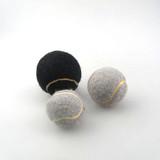 Custom promotion gray toy tennis ball