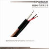 0.71mm BC Conductor RG59 Coaxial Cable PVC Jacket , Low Loss Coaxial Cable
