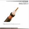 MIL-C-17 RG 213 Coaxial Cable Stranded BC Conductor with BC Braiding for Military
