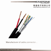 Siamese FTP CAT5E BC Conductor with 2 x 0.75mm2 CCA Power for Security Camera
