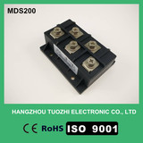Three phase rectifier bridge module 200a 1600v MDS200-16