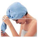 Microfiber hair caring warp towels