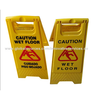 Floor safety warning signs