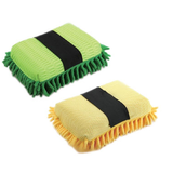 Microfiber Chenille Cleaning Sponges for Car Care Cleaning