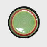 ceramic handpainted  dinner plate