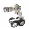 Pan tilt pipeline sewer inspection robot duct inspection camera with 360 degree rotation