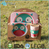 Biodegradable Eco-Friendly BamBoo Kids Lunch Box Set