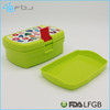 Microwavable Food Container two sides locking bento box