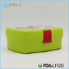China Supplier Food Grade pp bento box in 2-layer