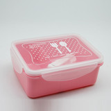 Hot Selling Durable Microwavable bsci lunch box factory