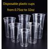Plastic PET cups