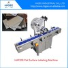 manual labeling machine automatic flat surface label applicator