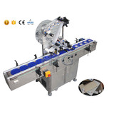 Full-Automatic & Competitive economy flat surface label applicator servo motor by SUS304 stainless steel