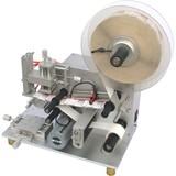 Tea bag self adhesive sticker semi automatic labeling machine with coding machine