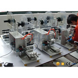 self adhesive sticker semi automatic labeling machine easy operated manual type