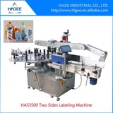 Factory direct sale automatic labeling machine for shampoo round and flat bottles