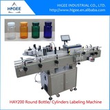 self adhesive sticker round bottle automatic labeling machine