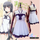 sexy cosplay dress My younger sister Gokou Ruri sexy braces skirt nightgown cosplay costume