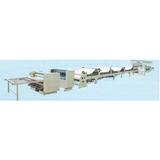 Corrugated cardboard production line glue machine