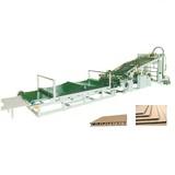 Semi-auto type laminator for corrugated box making