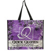 Full color printing pp woven bag/fashionable tote bag
