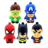 USB 2.0 cartoon usb sticker 4GB 8GB 16GB 32GB 64GB