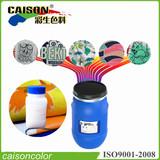 Liquid textile binder for textile screen printing
