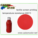 CTH-1001 Red water-based pigment paste for printing