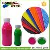 Rubber mat coloring aqueous pigment dispersion