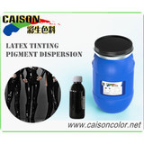 Latex clothing tinting pigment dispersion