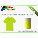 CD-0003 Fluorescent lemon yellow pigment color paste for fabric cationic dyeing