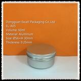 50ml high quality aluminum container aluminum tin