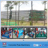 prestressed concrete electric spun pole machine for East Africa