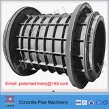 rcc concrete culvert pipe machine
