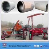 rcc cement drain pipe machine