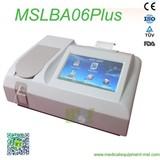 Semi-automatic chemistry analyzer MSLBA06Plus for sale