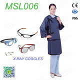 lead free radiology aprons Long sleeve suit for sale