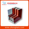 6063-T5 sliding aluminum door profile of powder coating