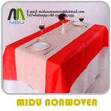 45gsm NonWoven table covers 1m*1m size foldable non woven tablecloth