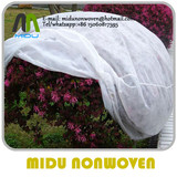 15GSM 640CM anti-uv agriculture geotextile nonwoven cloth roll for crop cover