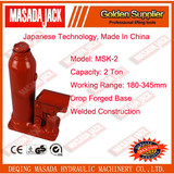 2 Ton Welded Construction Hydraulic Bottle Jack, Car Jack, MSK-2