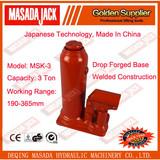 3 Ton Welded Construction Hydraulic Bottle Jack, Car Jack, MSK-3