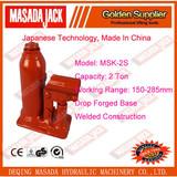 2 Ton Welded Construction Hydraulic Bottle Jack, Car Jack, MSK-2S