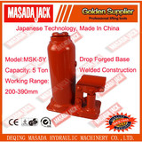 5 Ton Welding Bottle Jack,Hydraulic Jack, Car Jack, Lifting Tools, MSK-5Y