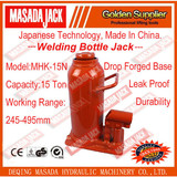 15Ton Welding Bottle Jack,Hydraulic Jack, Car Jack, Lifting Tools, MHK-15N