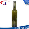 750ml Dark Green Best Sell Glass Bottle with Thread