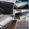 Hot dip galvanized square and rectangular pipe/tube