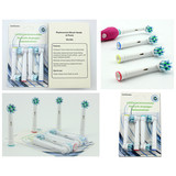 Wholesale Replacement Brush Head EB-50A US DuPont Bristle 1Pack=4pcs Blister Packing