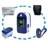 FDA Approved Color Display OLED SPO2 Fingertip Pulse Oximeter CMS50D for Blood oxygen saturation detection
