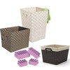 PP Woven Strap Storage Baskets, Laundry Hampers